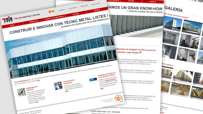Web Tecnic Metal·listes I